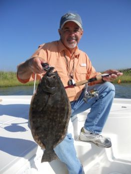 Joe Albea of Greenville has been a crusader for coastal resources for many years, and he's now pushing for changes in the management of redfish, speckled trout and stripers fisheries in North Carolina.<br />