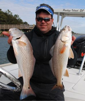 Rob Beglin, a guide and IFA redfish pro from Pawley's Island, S.C., won't return to North Carolina to fish any tournaments as long as it's legal for commercial netters to take redfish.