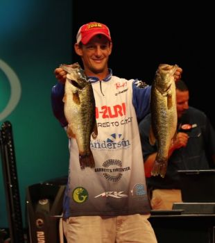 Brandon Cobb is one of the six Carolina anglers who will compete in the 2018 FLW Forrest Wood Cup at Lake Ouachita in August.