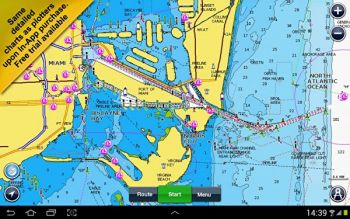 Get all the latest updated chart information and features from Navionics right on your phone with the Navionics phone app.