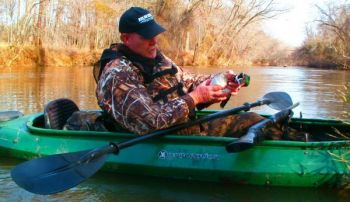 Float-hunting a public creek or river is a great way to hunt ducks without ever seeing another hunter.